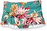 La Blanca Women's Skirted Ruffle Hipster Bikini Swimsuit Bottom, Aloe Green//Garden Social, 4