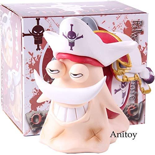 Anime One Piece Edward Newgate Jinbe Den Den Mushi Teléfono PVC One P