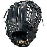ZETT(ゼット) 軟式野球 ソフトボール 兼用 グラブ (グローブ) ライテックス オールラウンド用 ブラック(1900) 右投げ用 BSGB3910