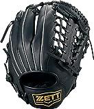ZETT(ゼット) 野球グローブ 軟式/ソフトボール兼用 ライテックス オールラウンド用 ブラック(1900) 右投げ用 BSGB3910 グラブ
