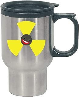 Radioactive Emoji Cool Creative Design - Stainless Steel Travel Mug