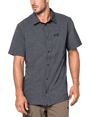 Jack Wolfskin Herren Hemd Barrel Shirt, Night Blue, XXXL, 1402691-1010007