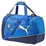 PUMA Bolsa de Deporte Italia Evopower Medio Bag, Equipo de energía Azul/Azul Marino/Blanco, 63 x 26 x 33 cm, 54 litros, 073897 01