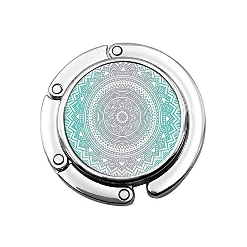 Mandala Etnische print patroon portemonnee houder, handtas Hanger tas haak voor tafel bureau