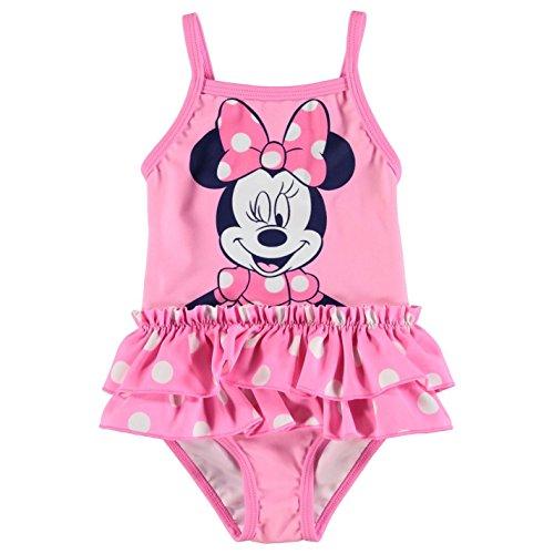 Disney Minnie Mouse Maillot de bain pour bébé fille Rose 3-6 mois