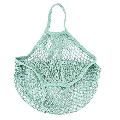 Trada einzelne Schulter Tasche, stilvolle tragbar wiederverwendbar Mesh Net Schildkröte Tasche String Einkaufstasche Obst Lagerung Handtasche Totes Einkaufstasche für Frauen (A)