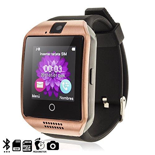 TEKKIWEAR. DMV085GOLD. Smartwatch Q18. Compatible
