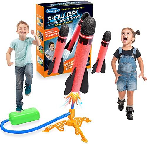 Lancoo goz Spielzeug ab 3-12 Jahre Junge, Outdoor Spielzeug Kinderspielzeug ab 3-12 Jahre Garten Spielzeug Kinder Geschenk Junge 3-12 Jahre Rakete Spielzeug Weihnachten Geschenk für Kinder