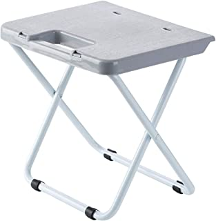 HaavPoois Taburete Plegable, 1 Pieza Silla Plegable Portátil Simple Moderna para Cocina, Camping, Pesca, Picnic y Senderismo