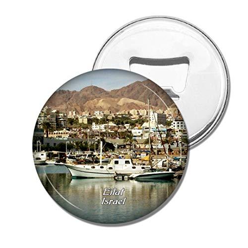 Weekino Israel Eilat Bier Flaschenöffner Kühlschrank Magnet Metall Souvenir Reise Gift