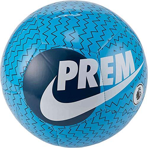 Nike Premier League Pitch Balón de fútbol, 5, Azul