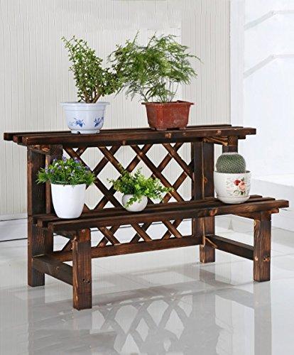 LB huajia ZHANWEI Pergolen aus Holz, Blumen Karbid, Montage mehrschichtige Holzschutzmittel Balkonblume, im Freien Pergolen aus Holz (größe : A-52cm)