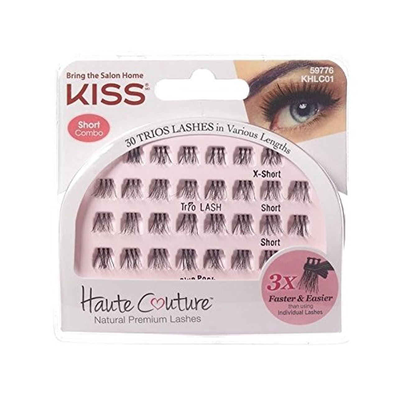 等適用する小康オートクチュールトリオが上品なまつげにキス x4 - Kiss Haute Couture Trio Lashes Classy (Pack of 4) [並行輸入品]