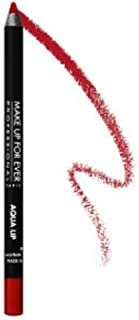 Make up for Ever Aqua Lip Waterproof Lipliner Pencil 8C Red mini 0.018 oz.