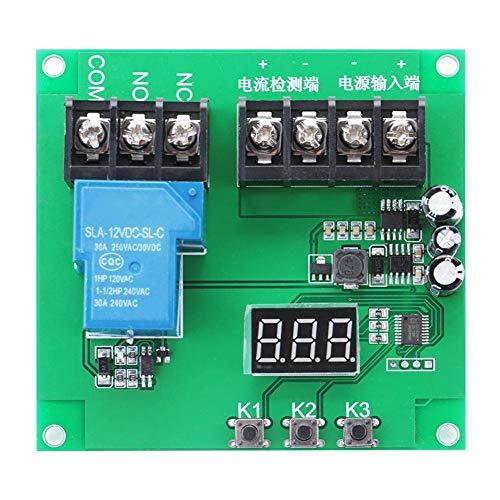 Erkennungsmodul, YYI-4 7-30V 0-30A DC-Stromerkennungssensormodul Überstromschutzrelaismodul