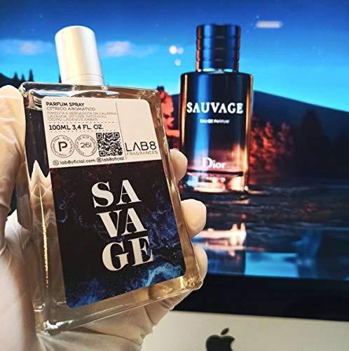Perfume LAB 8 Savage 100ml - Inspirado em Sauvage da D.