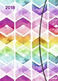 Watercolours 2018 - Taschenkalender, Magneto Diary small, Buchkalender - 16 x 22 cm: Buchkalender A5