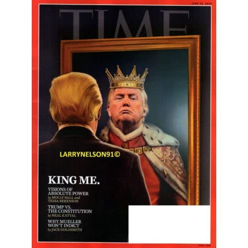 Time Magazine (June 18, 2018) King Me Cover