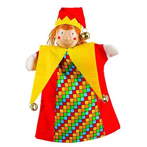 Goki - 2040594 - Marionnette À Mains en Peluche - Kasper
