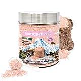Nortembio Sel Rose de l'Himalaya 750 g. Fin (1-2 mm). 100% Naturel. Sans Affiner. Sans Conservateurs. Extrait à la Main. Qualité Premium.