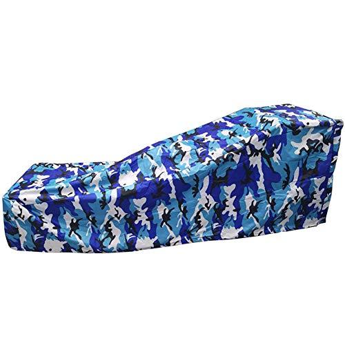 YFGlgy Outdoor Garden Waterproof Sun Lounger Chair Cover, Windproof Anti-UV Heavy Duty 210D Oxford Fabric, 84L x 32W x 31H inch,B