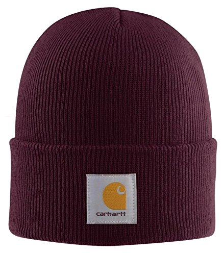 Carhartt Acrylic Watch Cap - Port CHA18PRT Strickmütze Hüte Beanie Mütze Kappe B CHA18PRT-Universal