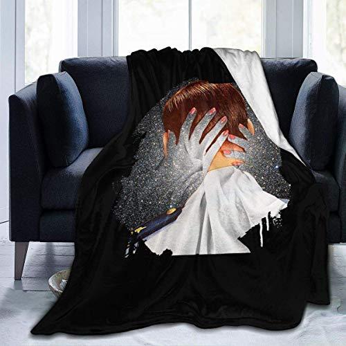 Shichangwei Highly Sherpa Bed Blanket Plush Throw Blanket Fleece Blanket para bebé y capa.