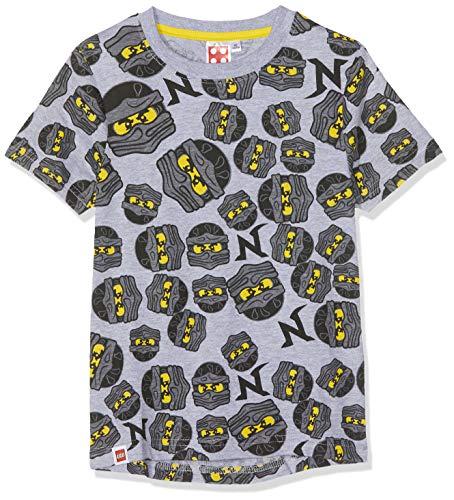 LEGO NINJAGO 5504 T-Shirt, Gris (Gris Gris), (Taille Fabricant:8 Ans) Garçon