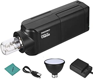 YONGNUO YN200 Portable TTL Flash Speedlite Kit Outdoor Flash Light w/ 2900mAh Lithium Battery & Battery Charger 200W GN60 ...