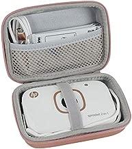 Hermitshell EVA Hard Travel Case Fits HP Sprocket 2-in-1 Portable Photo Printer & Instant Camera (Rose Gold)