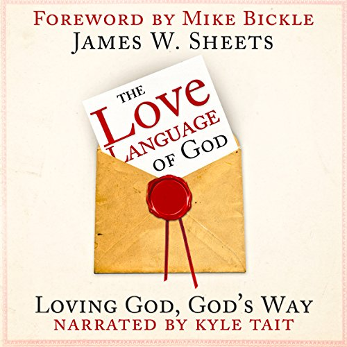 The Love Language of God audiobook cover art