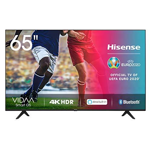 Hisense UHD TV 2020 65AE7000F - Smart TV Resolución 4K con Alexa integrada, Precision Colour, escalado UHD con IA, Ultra Dimming, audio DTS Studio Sound, Vidaa U 4.0
