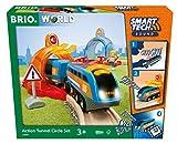 BRIO World Smart Tech Sound - Juego de círculos de túnel de acción para niños a Partir de 3 años, Compatible con Todos los Conjuntos de Tren BRIO