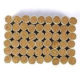 SALUTUYA 54 Piezas de Combustible para Ahumado de Abejas, Herramienta de Apicultura para calmar a Las Abejas, Pellet de Fumador Limpio y Saludable
