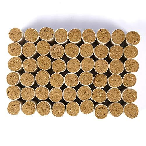 LANTRO JS - 54 Uds, Pellets para ahumado de abejas, accesorios de apicultura para colmenas, ahumador de colmenas, herramienta de apicultura de combustible sólido