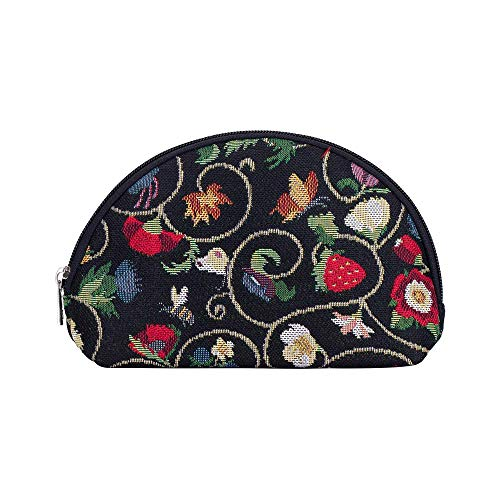 Signare Tapestry cosmetic bag makeup bag for Women with Jacobean Dream...