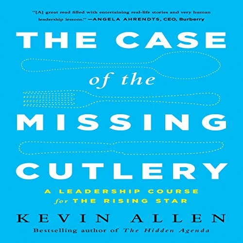 The Case of the Missing Cutlery audiobook cover art