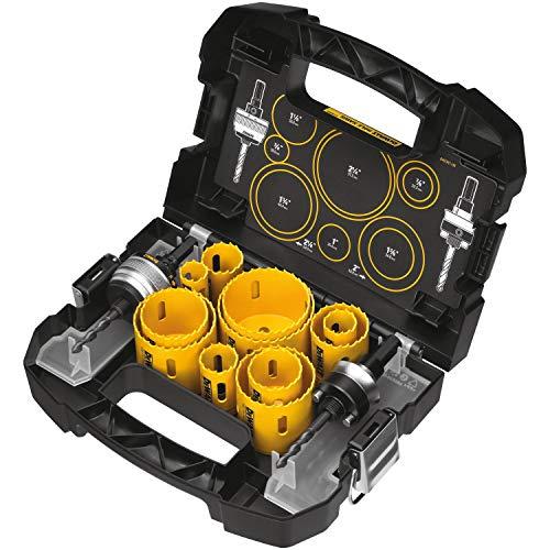 DEWALT Hole Saw Kit, 14-Piece (D180005) , Yellow