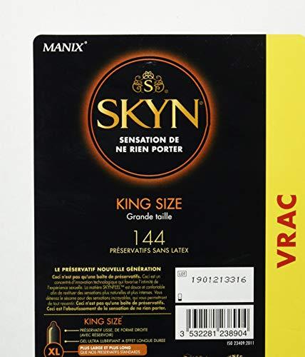 Skyn King Size 144 Kondome groß – Mega Pack