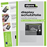 dipos I 2X Schutzfolie matt kompatibel mit Lenovo ThinkPad X1 Tablet Folie Bildschirmschutzfolie
