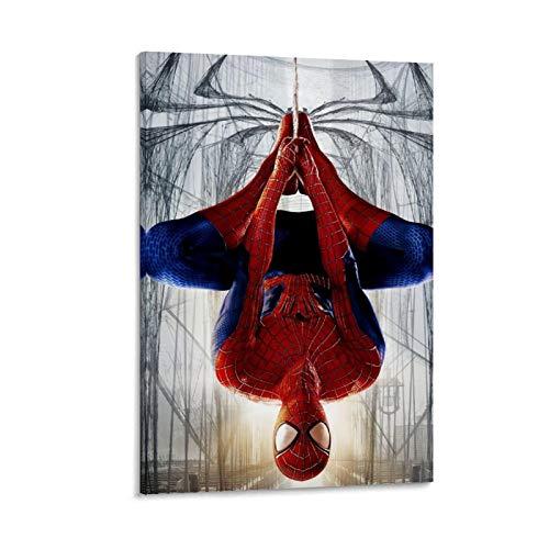 Homrkey Décoration murale pour bureau, chambre à coucher, salon, super-héros Avengers Spiderman 20 x 30 cm