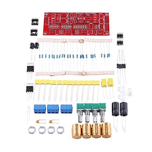 Vorverstärker, Samfox NE5532 Tone Board Kits für Vorverstärker HI-FI-Verstärker AC 12V OP-AMP(Parts delivery knob)