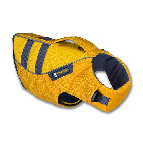 RUFFWEAR - Float Coat Reflective Life Jacket for Dogs, Dandelion Yellow (2016), Small