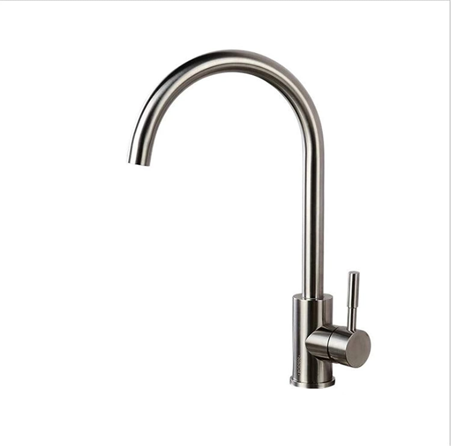 Kitchen Taps Faucet Modern Kitchen Sink Taps Stainless Steelstainless Steel Kitchen Cold and Hot Water Faucet Sink Dish Basin Faucet Mixing Valve redary Faucet