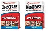 BLEEDCEASE Stop Bleeding STERILE 5 Count 2 Pack