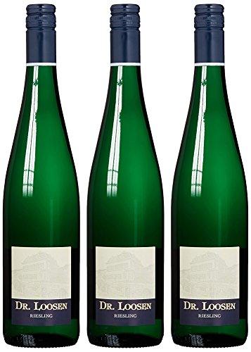Weingut Dr. Loosen Riesling Weißwein  trocken (3 x 0.75 l)