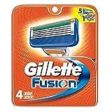 Gillette Fusion Blades 4 Cartridges
