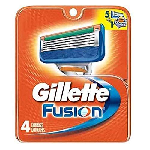 Price comparison product image Gillette Fusion Blades 4 Cartridges