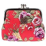 2020 New Zero Wallet Women's Crushed Flower Mini Cute Korean Student Short Hand Holding Small Card Bag Key Bag