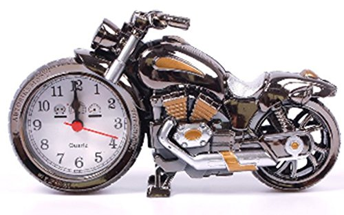 SaySure - Creative Motorcycle Shape Digital Alarm Clock Quartz